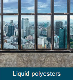 Liquid polyesters