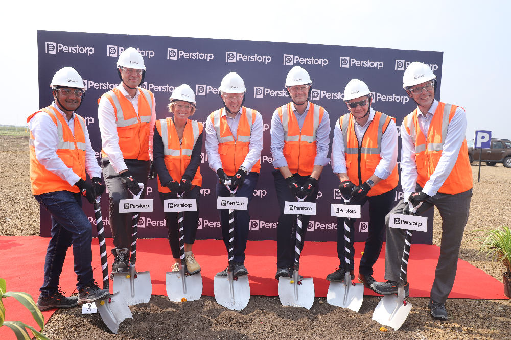 Ground breaking in India for Perstorp Penta