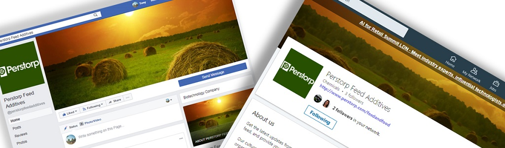 Perstorp Feed Additives Social Media