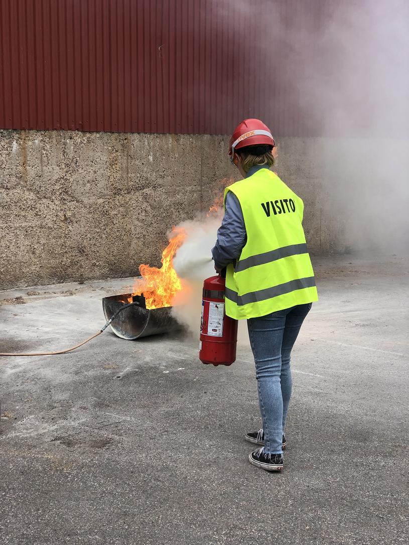 Fire-drill-summer-worker