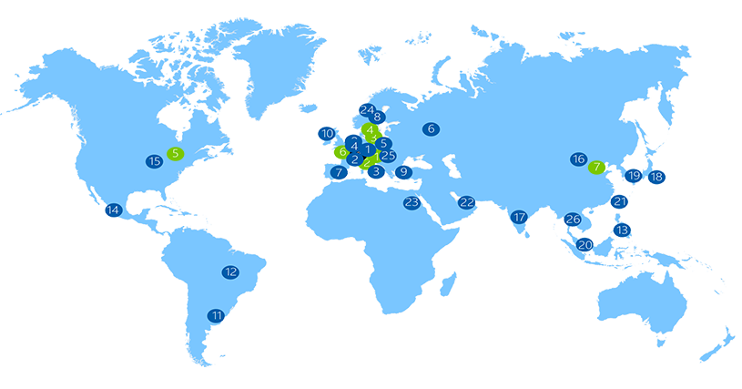 Perstorp map