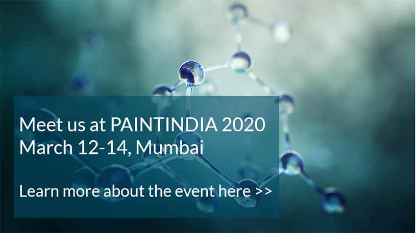 Meet Perstorp at PaintIndia