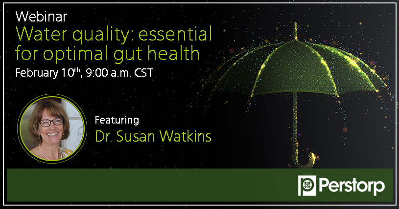 Webinar water quality: essential for optimal gut health