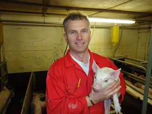 Gary Anderson Pig farmer