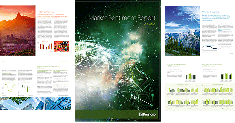 Market Sentiment Report - page collage