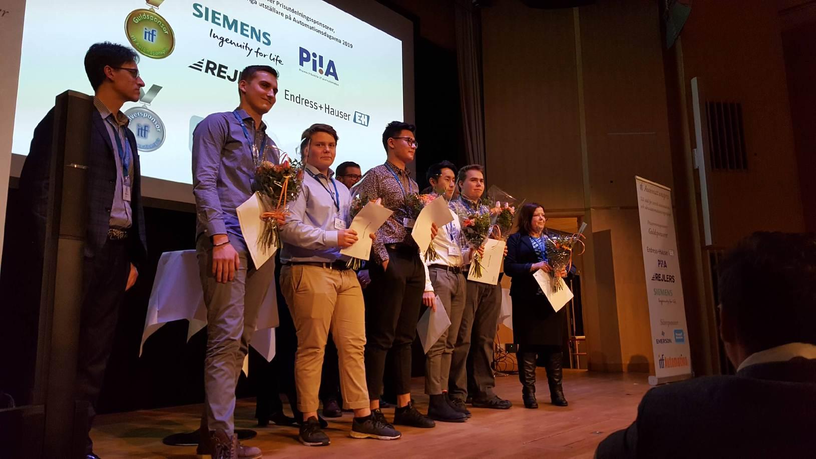 Perstorp Gymnasium ITF Award