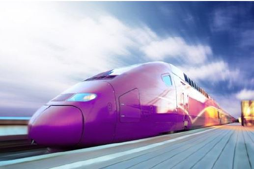 Purple train Capa