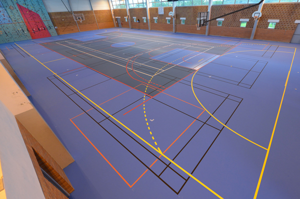 Perstorp sports flooring