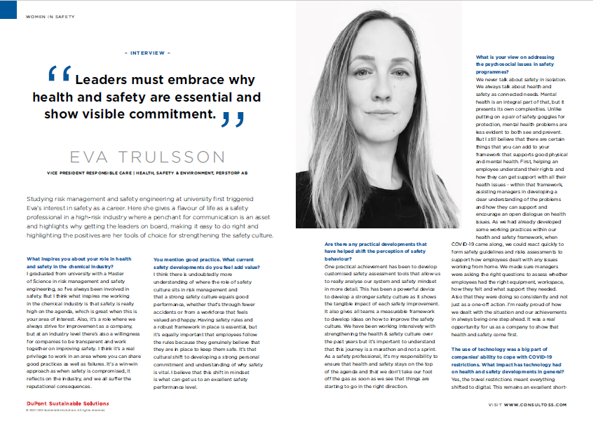 Eva Trulsson interview DSS