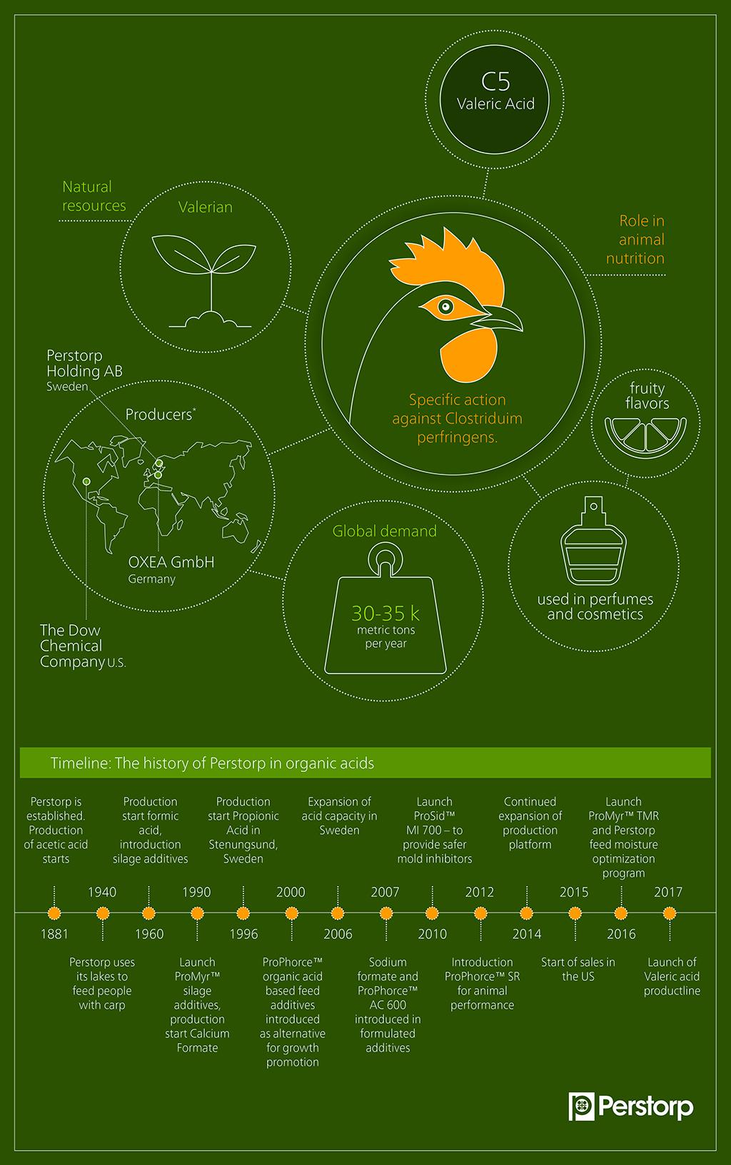 valeric acid infographic