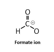 formate ion