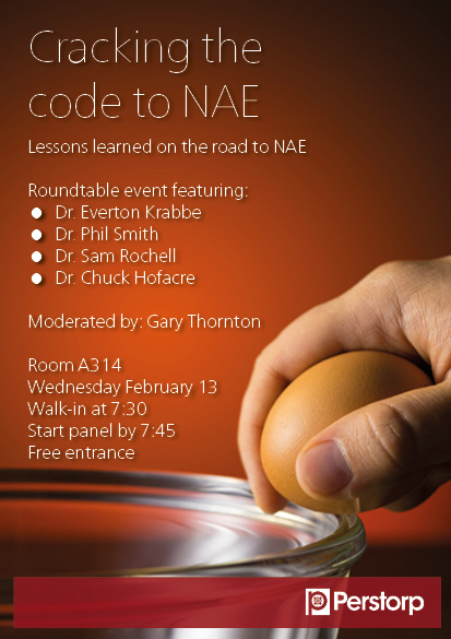IPPE Roundtable event: cracking the code to NAE