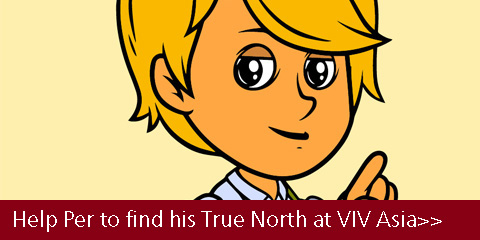 Help Per to find his True North at VIV Asia