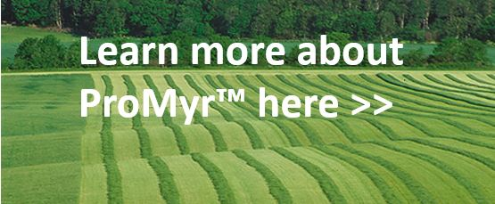 field with silage promoting ProMyr