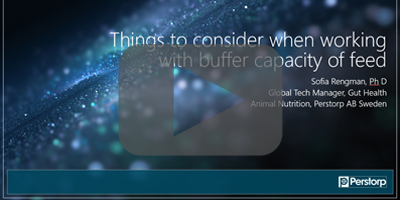 things to consider when working with buffer capacity of feed