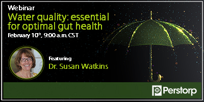 Water quality: essential for optimal gut health