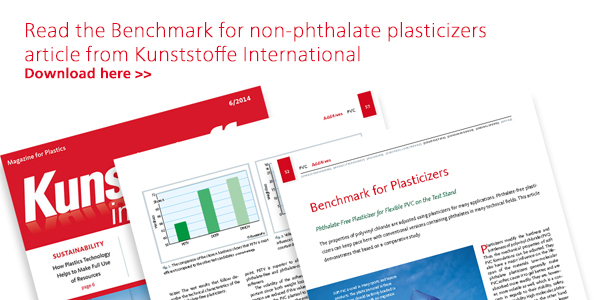 Benchmark for non-phthalate plasticizers