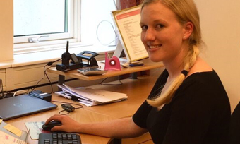 Perstorp employee Andrea