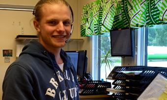 Perstorp employee Erik