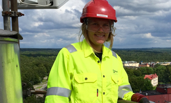 Perstorp employee Louise